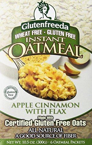 Glutenfreeda Instant Oatmeal Apple Cinnamon 10.5 OZ