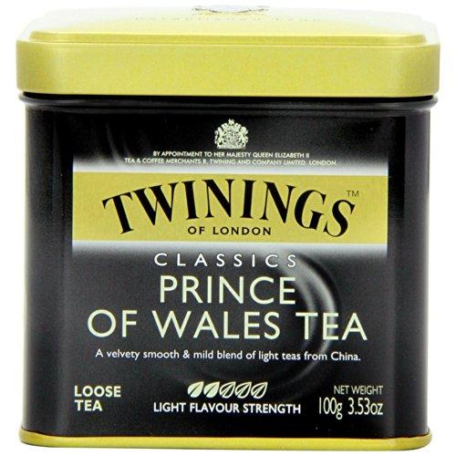 Twinings Prince Of Wales 100 Gram Loose Tea Tin, Set of 2