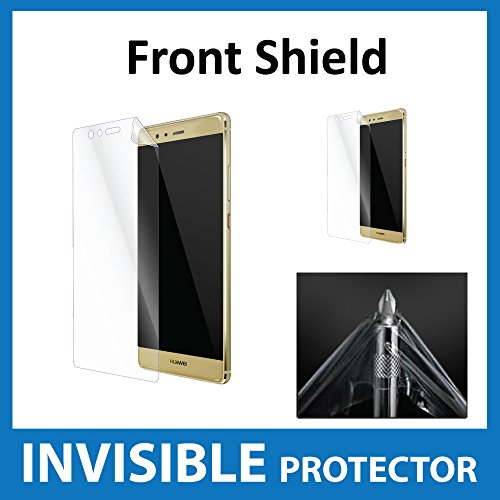 Huawei P9 Screen Protector INVISIBLE Front Shield Military Grade Protection Exclusive to ACE CASE