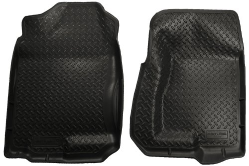 Husky Liners Classic Style Custom Fit Molded Front Floor Liner for Select Chevrolet/Cadillac/GMC/Hummer Models (Black)