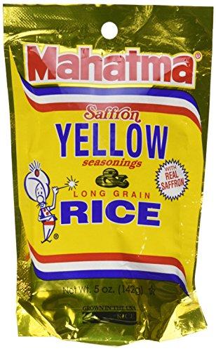 Mahatma Saffron Yellow Rice and Seasonings 5 Oz. (6 Packs)