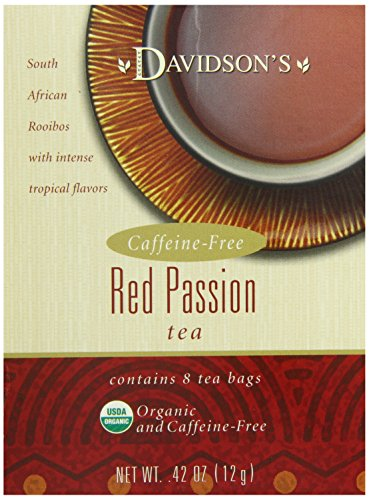 Davidson's Tea Red Passion, 8-Count Tea Bags (Pack Of 12)