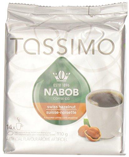 Nabob Tassimo Swiss Hazelnut Coffee T-Discs, 14-Count