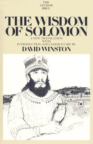 The Wisdom of Solomon (The Anchor Yale Bible Commentaries)