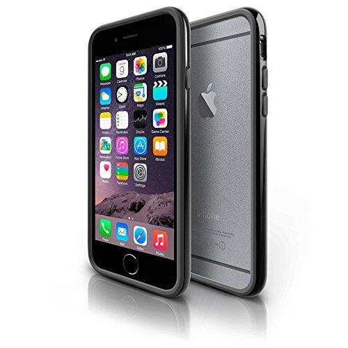 Photive iPhone 6 Hybrid Bumper Case-Slim protective case Designed for the iPhone 6 - Black