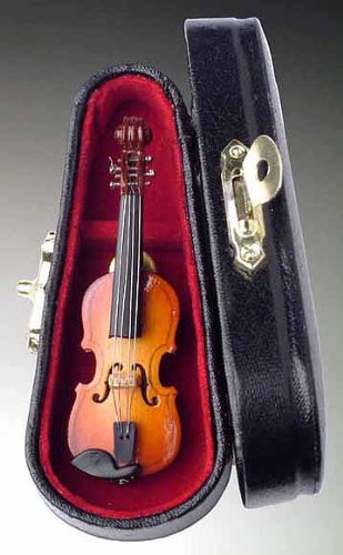 Violin Pin Pin w Instrument Case Musical Gift NEW