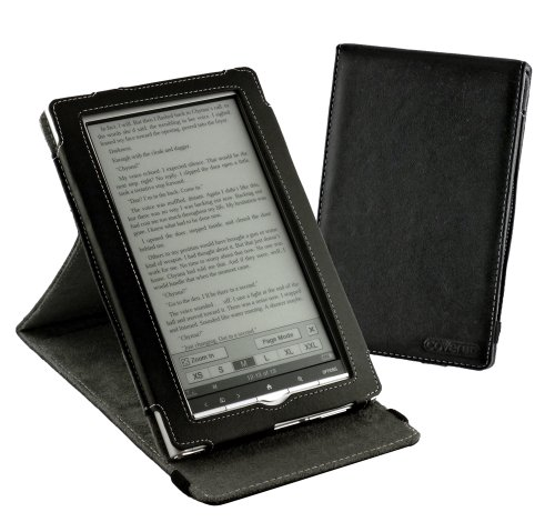 Cover-Up Sony PRS-950 Daily Edition Inversion Stand Leather Case - Black