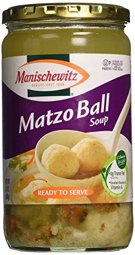 Manischewitz Matzo Ball Soup Jar, 24-Ounce (Pack of 3)