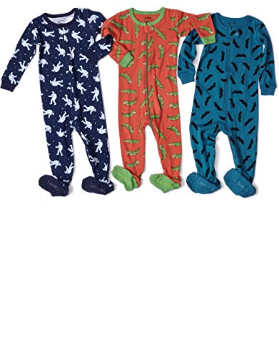 Leveret Baby Boys 2015 Footed Sleeper Pajama 100% Cotton (Size 6M-5 Years)