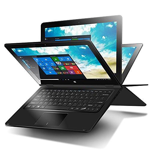 iRULU Walknbook 2Pro Notebook 2-in-1 11.6 inch Tablet (Windows 10 ,Intel Atom Z3735F Quad-core , 32GB ,2GB ,1.33GHz ,1366*768 Resolution) Rotatable Keyboard, 10000 mAh