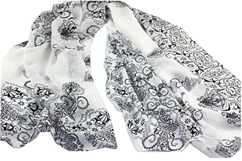 Dealzip Inc® Womens Girls Scarf Vintage Pretty Cute Wrapping India Paisley Throw Stole Soft