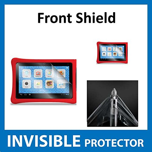 FUHU Nabi 2 2S Tablet 7 Front INVISIBLE Screen Protector (Front Shield included) Military Grade Protection Exclusive to ACE CASE