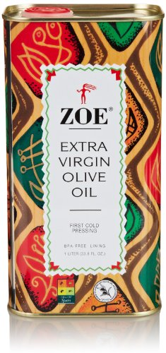 Zoe Extra Virgin Olive Oil, 33.8 Fl Oz