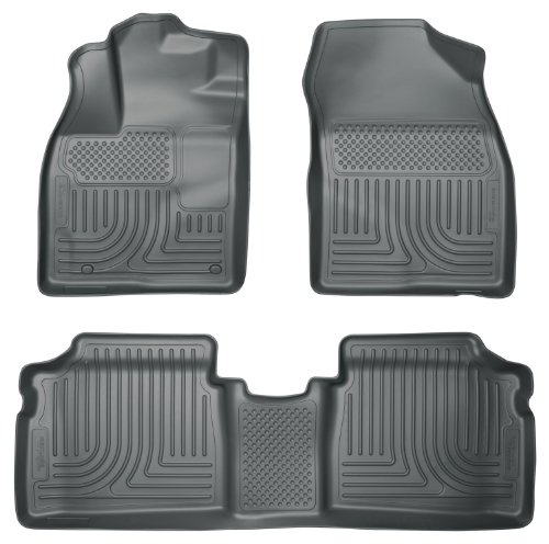 Husky Liners 98932 WeatherBeater Grey Front and 2nd Seat Floor Liner