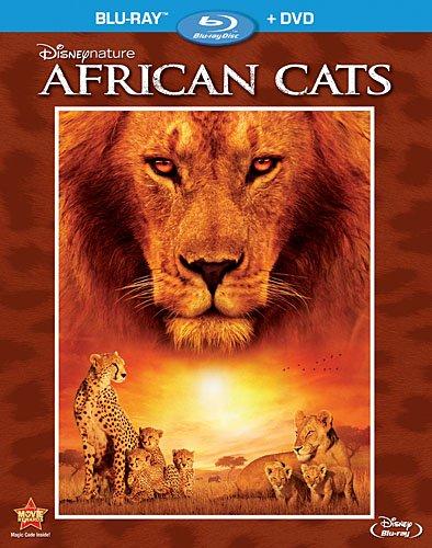Disneynature: African Cats [Blu-ray + DVD] (Bilingual)
