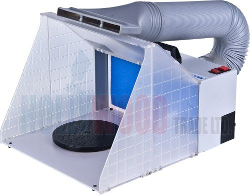 Portable Spray Booth + Extraction Unit + Spare Filter