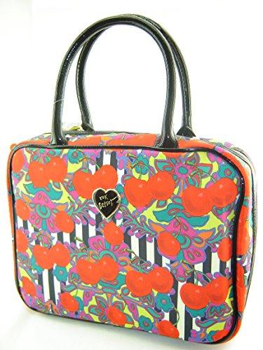 Betsey Johnson Cherries Weekender Toiletry Case Bag Red Multi