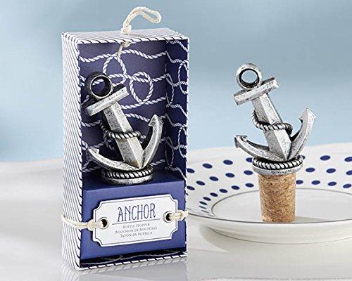 Kate Aspen Nautical Anchor Bottle Stopper