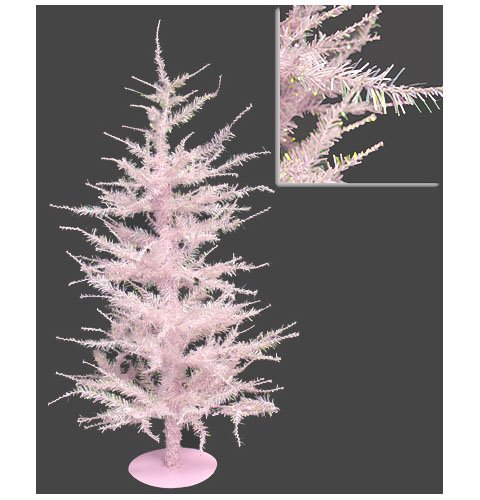 Whimsical Pink Laser Artificial Christmas Tree 24