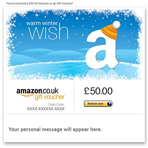 Winter Wishes - E-mail Amazon.co.uk Gift Voucher