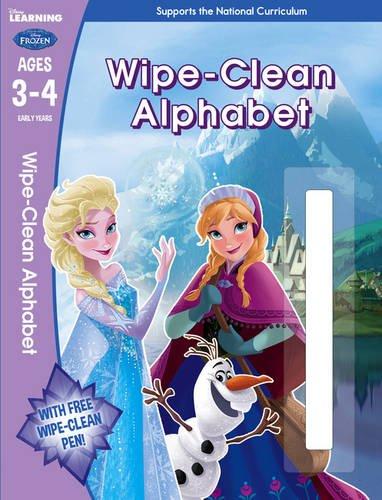 Frozen: Wipe-Clean Let's Learn the Alphabet (Disney Learning)