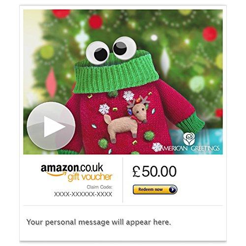 Christmas Jumper (Animated) - E-mail Amazon.co.uk Gift Voucher