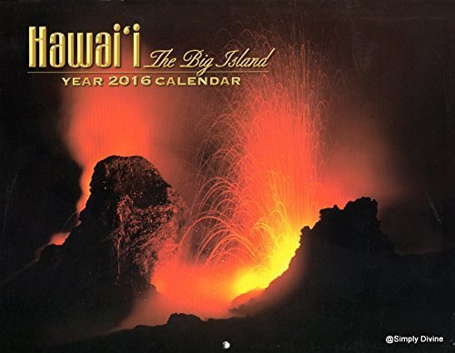 2016 Hawaii The Big Island Hawaiian Wall Calendar
