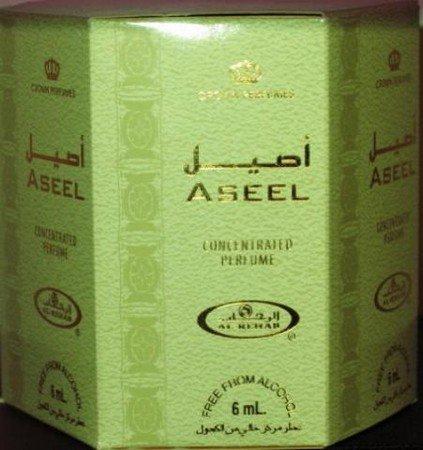 Aseel - 6ml (.2oz) Roll-on Perfume Oil by Al-Rehab (Crown Perfumes) (Box of 6)