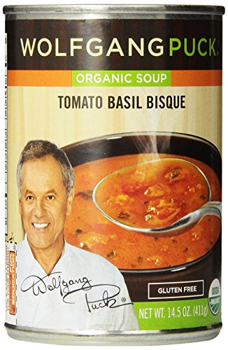 Wolfgang Puck Organic Tomato Basil Bisque, 14.5 Ounce (Pack of 12)