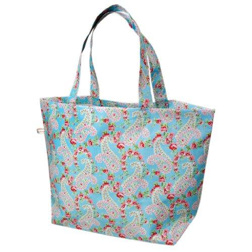 dotcomgiftshop Paisley Park Large Recycled Shopping Bag