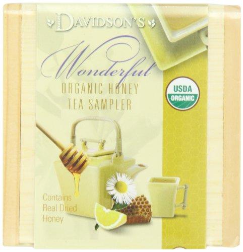 Davidson's Tea Honey Sampler Tea Chest, (Pack of 6)