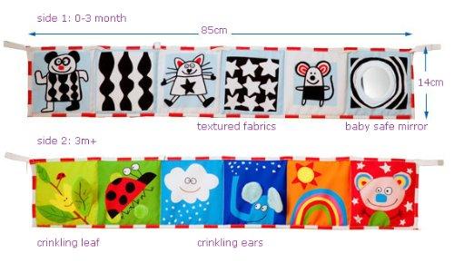 Taf Toys Clip-On Pram Book