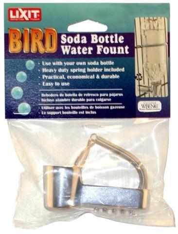 Lixit Pop Bottle Water Fountain Metal PB10