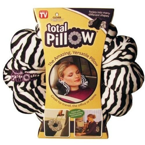 Clever Comforts Total Pillow (Zebra Pattern)
