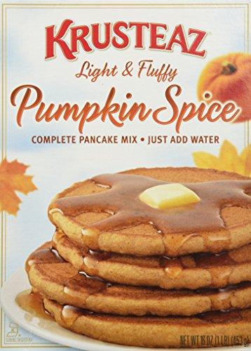 Krusteaz Pumpkin Spice Pancake Mix 16 oz(3 Pack)
