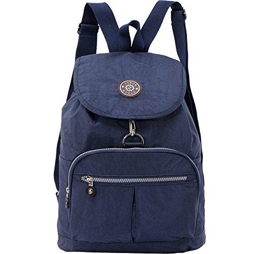 ZYSUN Fashion Travel School Backpacks LightWeight Bag for College Girls Womens(604,blue)