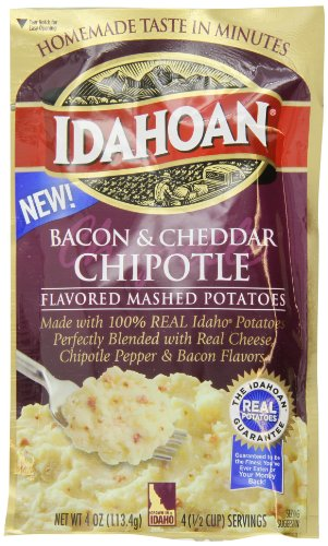 Idahoan Chipotle, Bacon Cheddar, 4 Ounce (Pack of 12)