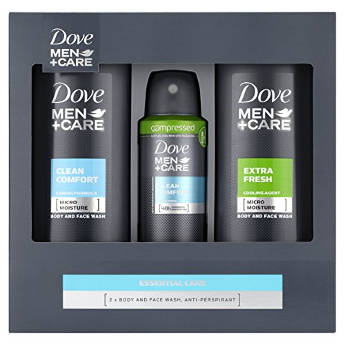 Dove Men+Care Essential Care Gift Set