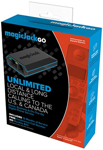 magicJack Digital Phone Service - Includes 12 months of Service
