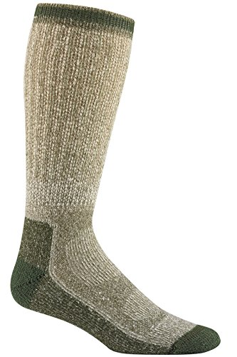 Wigwam Merino Comfort Sportsman Socks Olive LG 2-PACK