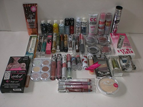 Hard Candy Cosmetics Makeup Assortment Lot of 100 Pieces New Sealed Fresh