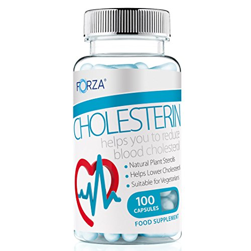 FORZA Cholesterin - Lower Cholesterol with Maximum Strength Plant Sterols Formula - 100 Capsules