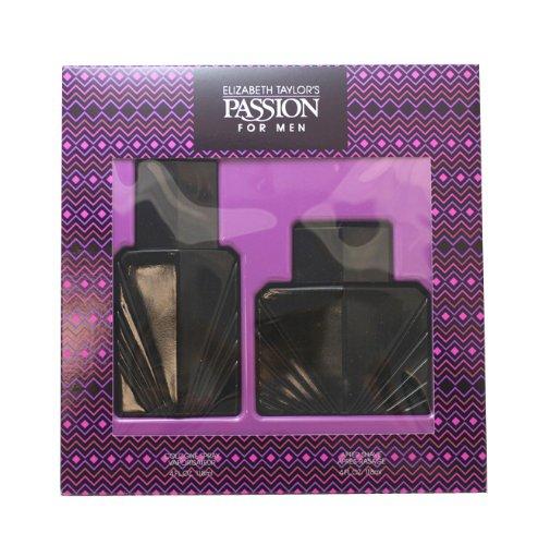 Passion By Elizabeth Taylor For Men. Set-cologne Spray 4 Ounces & Aftershave 4 Ounces
