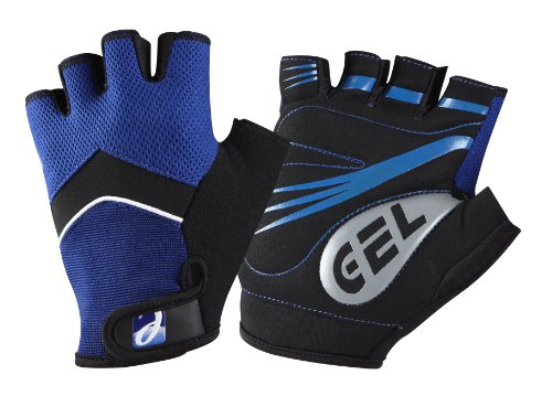 Elite Cycling Project Men's Road Racer Summer Cycling Mitts Gel Fingerless Cycling Gloves