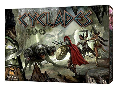 Asmodee Editions Cyclades Hades Expansion Game (Multi-Colour)