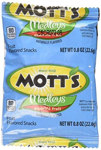 Mott's Medleys Assorted Fruit Flavored Snacks 80 Pouches 4lb
