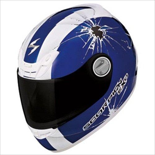 Scorpion EXO-400 Impact Helmet - X-Small/Blue