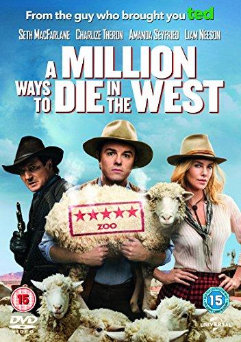 A Million Ways to Die in the West [DVD] [2014]