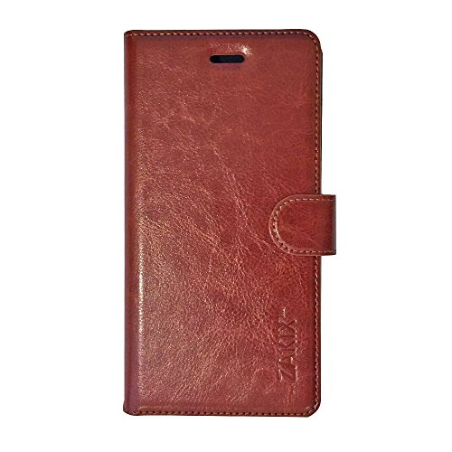 Zakix(TM) Premium Leather Wallet Case For iPhone 6S / 6: Premium PU Leather Protective Case For iPhone - Adequate Protection From Impacts With Ergonomic Design