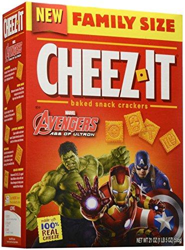 Cheez-It Avengers Crackers Family Size - 21 Ounces